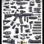 AR15 M4 Accessories Picture Modular Rifle