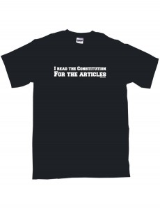 US Constitution Articles T-Shirt