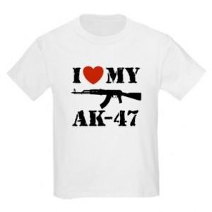 I love my AK-47 kids T-Shirt