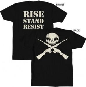 M1 Garand Skull and Crossbones T-Shirt