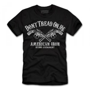 Awesome Dont Tread on Me T-Shirt Gadsden Flag T-Shirt American Iron